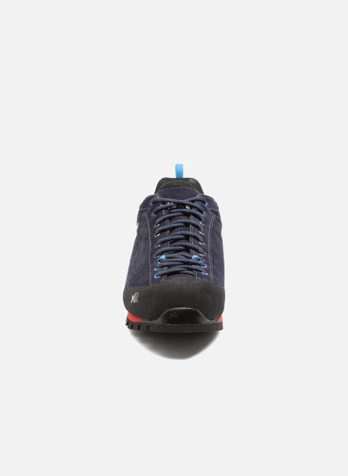 Chaussures de sport Millet Friction GTX Bleu vue portées chaussures