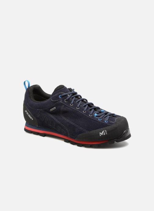 Sportssko Millet Friction GTX Blå detaljeret billede af skoene