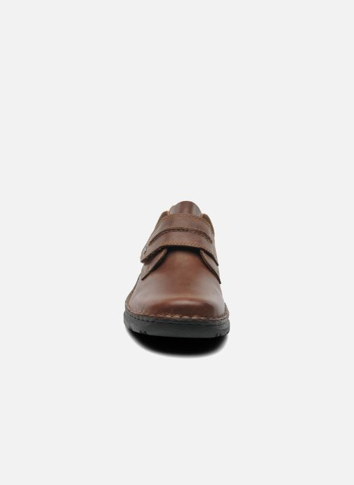 Chaussures à scratch Rieker Killian 05358 Marron vue portées chaussures