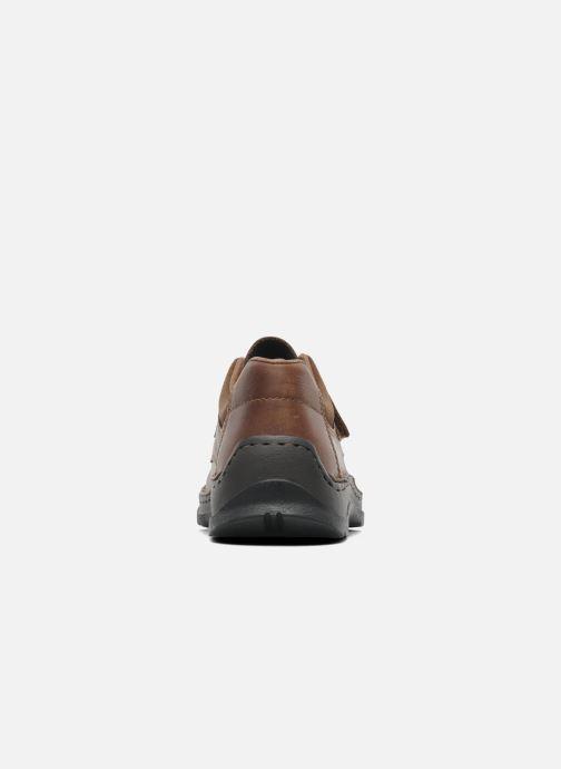 Chaussures à scratch Rieker Killian 05358 Marron vue droite