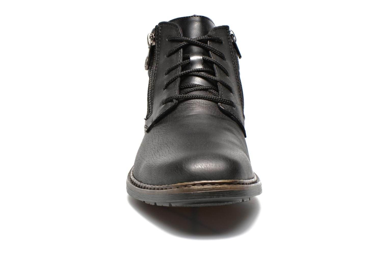 Zapatos con cordones Rieker Gaspa F1230 Negro vista del modelo