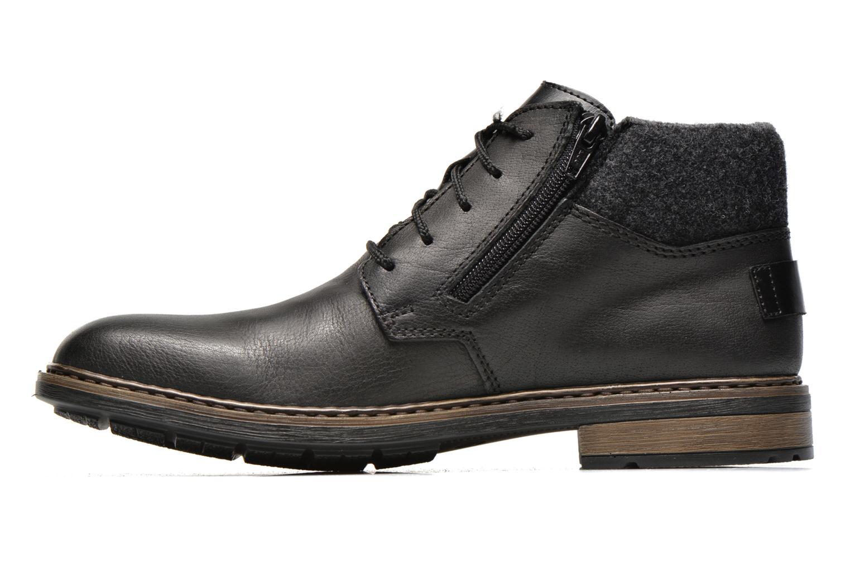 Zapatos con cordones Rieker Gaspa F1230 Negro vista de frente