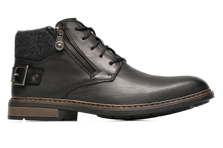 Zapatos con cordones Rieker Gaspa F1230 Negro vistra trasera
