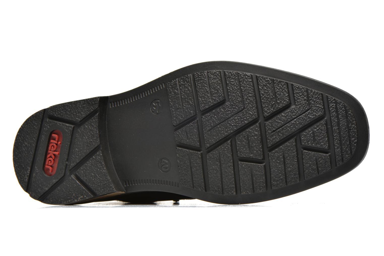 Zapatos con cordones Rieker Gaspa F1230 Negro vista de arriba