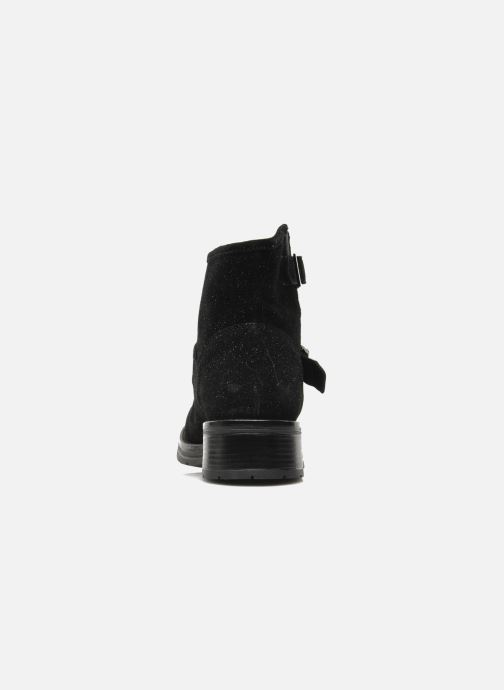 Ankle boots Redskins Yalo Black view from the right