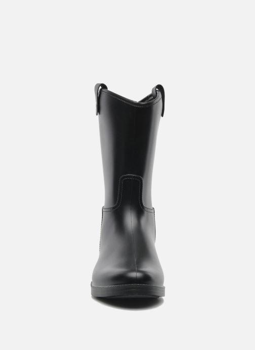 Bottines et boots Méduse Folka Noir vue portées chaussures