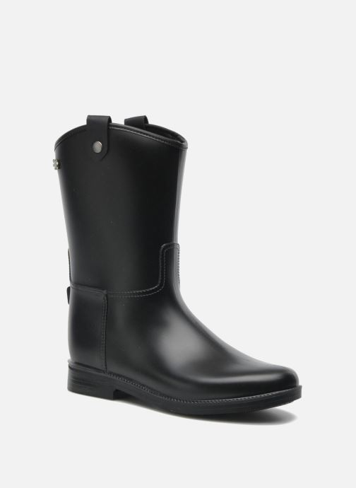 Ankle boots Méduse Folka Black detailed view/ Pair view