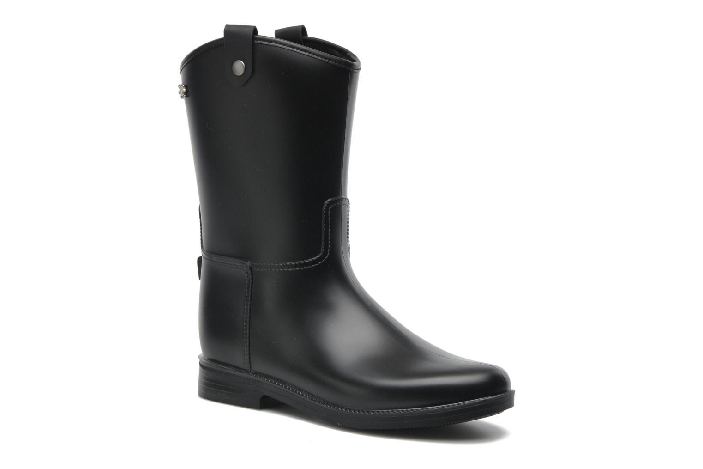 Bottines et boots Méduse Folka Noir vue détail/paire