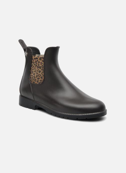 Ankelstøvler Méduse Jumpard Brun detaljeret billede af skoene