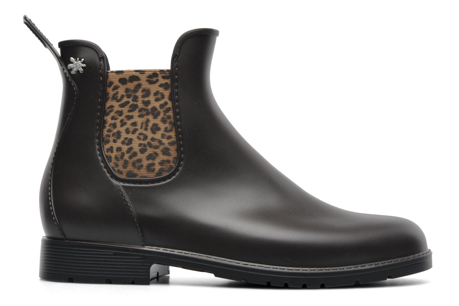 Ankle boots Méduse Jumpard Brown back view