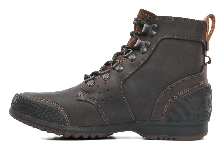 Bottines et boots Sorel Ankeny Mid Hiker Marron vue face