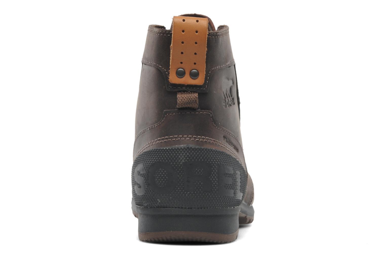 Bottines et boots Sorel Ankeny Mid Hiker Marron vue droite