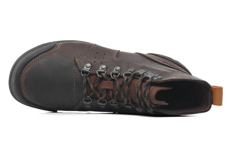 Bottines et boots Sorel Ankeny Mid Hiker Marron vue gauche