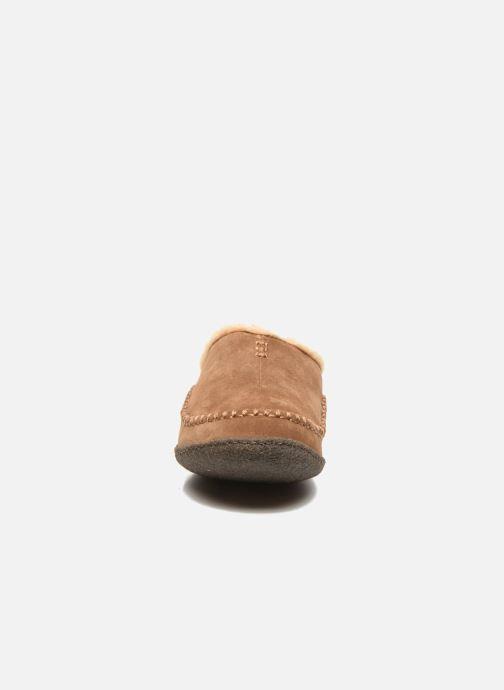 Pantofole Sorel Lanner Ridge Marrone modello indossato