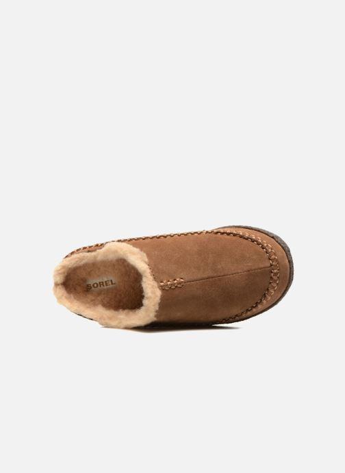 Pantofole Sorel Lanner Ridge Marrone immagine sinistra