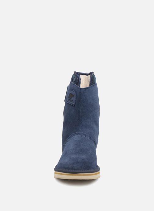 Bottines et boots Sorel Newbie Bleu vue portées chaussures