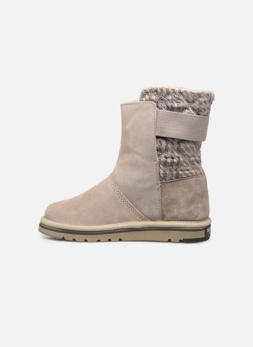 Bottines et boots Sorel Newbie Gris vue face