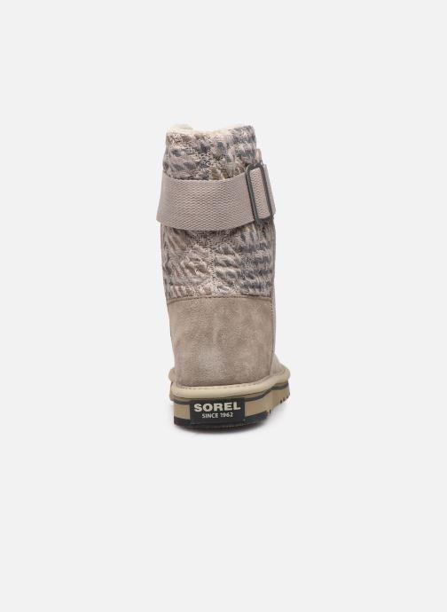 Bottines et boots Sorel Newbie Gris vue droite
