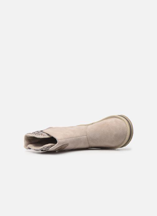 Bottines et boots Sorel Newbie Gris vue gauche