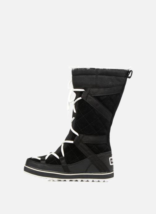 Sport shoes Sorel Glacy Explorer Black front view