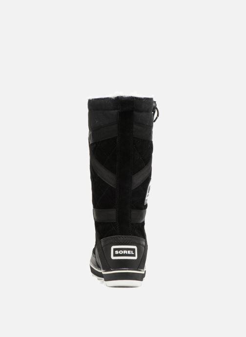 Zapatillas de deporte Sorel Glacy Explorer Negro vista lateral derecha