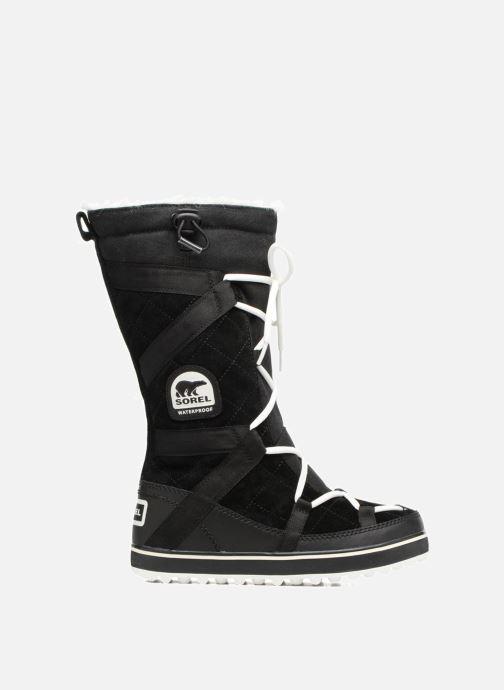 Sport shoes Sorel Glacy Explorer Black back view