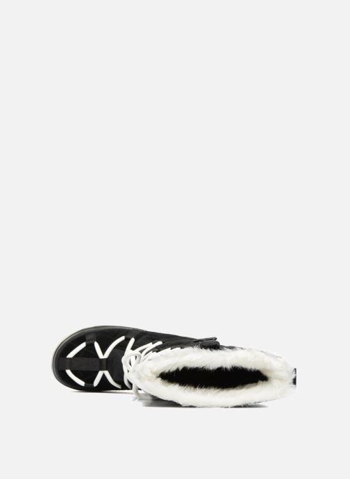 Sportschoenen Sorel Glacy Explorer Zwart links