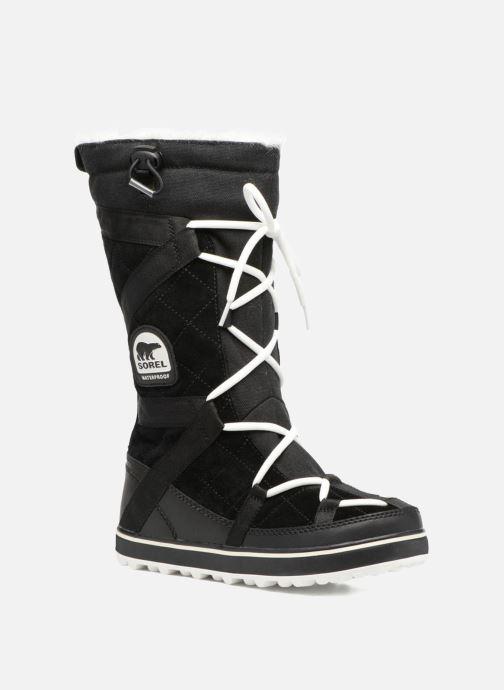 Sport shoes Sorel Glacy Explorer Black detailed view/ Pair view