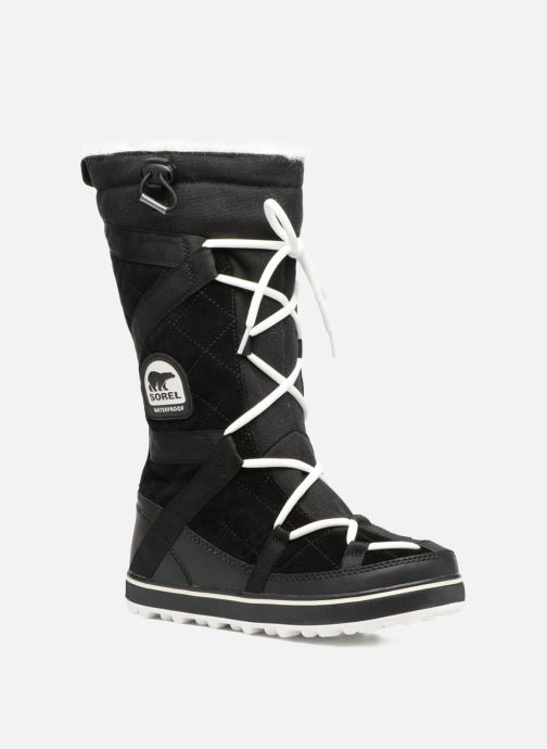 Sportschoenen Sorel Glacy Explorer Zwart detail