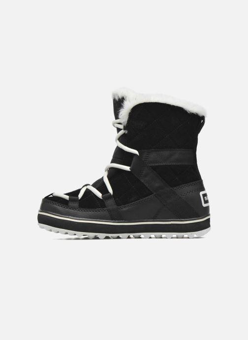 Zapatillas de deporte Sorel Glacy Explorer Shortie Negro vista de frente