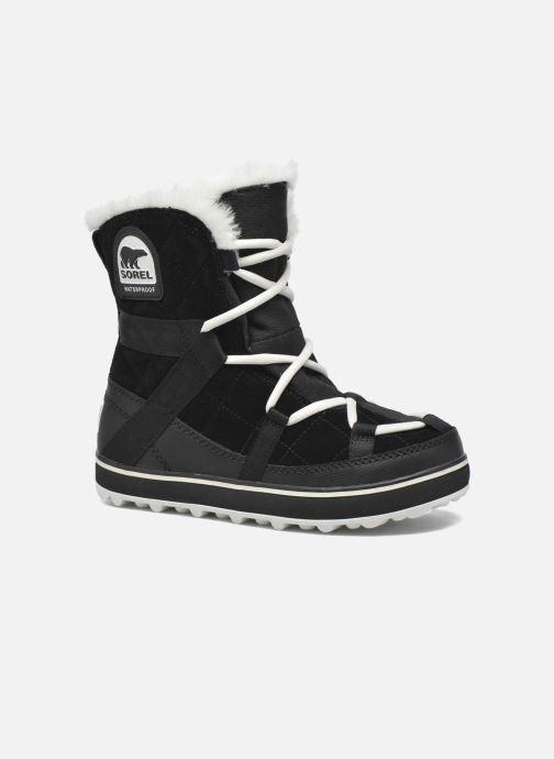 Sport shoes Sorel Glacy Explorer Shortie Black detailed view/ Pair view