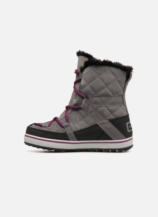 Chaussures de sport Sorel Glacy Explorer Shortie Gris vue face
