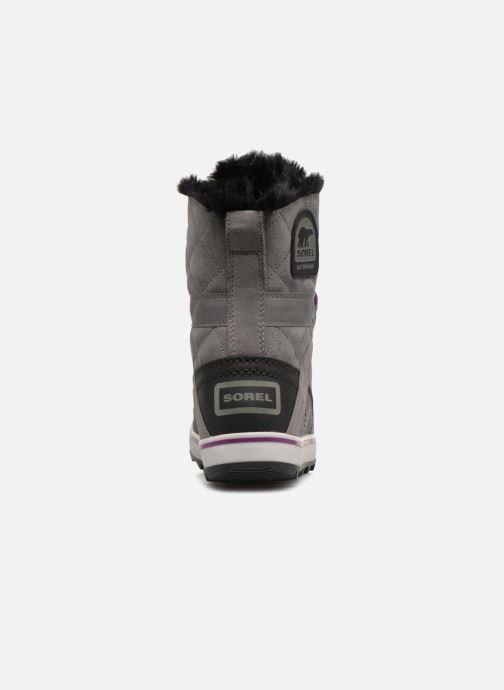 Chaussures de sport Sorel Glacy Explorer Shortie Gris vue droite