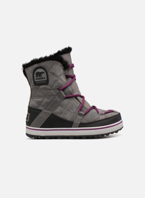 Chaussures de sport Sorel Glacy Explorer Shortie Gris vue derrière
