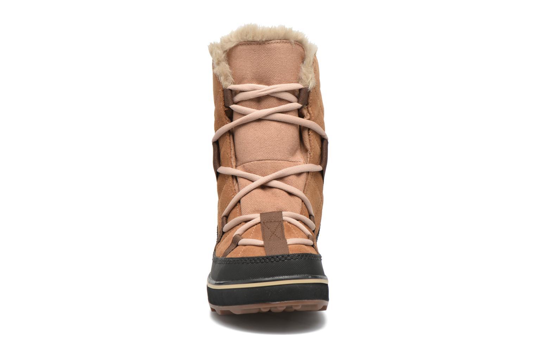 Sport shoes Sorel Glacy Explorer Shortie Brown model view