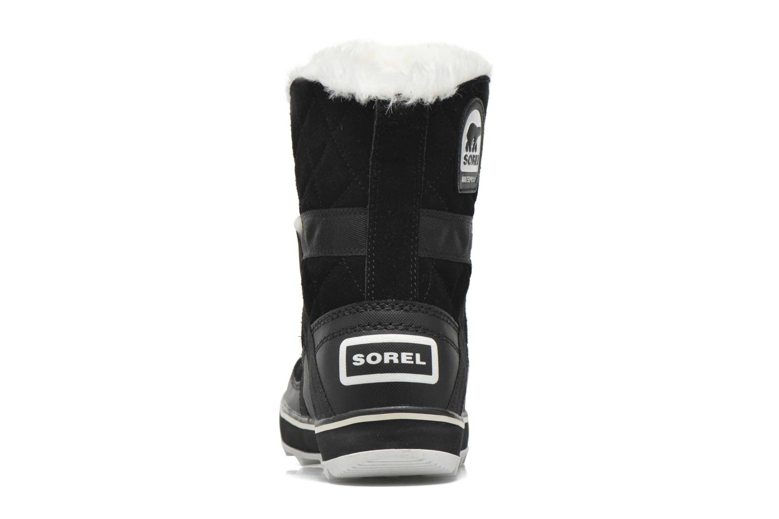 Sport shoes Sorel Glacy Explorer Shortie Black view from the right