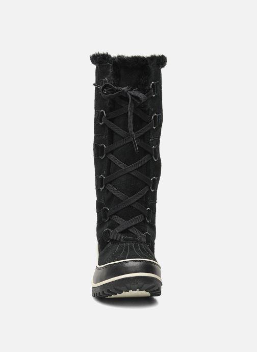 Chaussures de sport Sorel Tivoli High II Noir vue portées chaussures