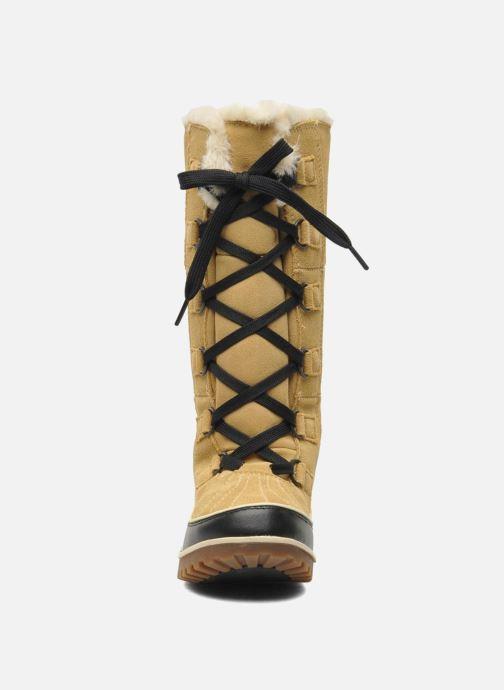 Zapatillas de deporte Sorel Tivoli High II Beige vista del modelo