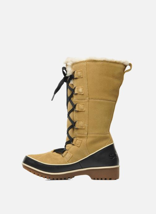 Chaussures de sport Sorel Tivoli High II Beige vue face