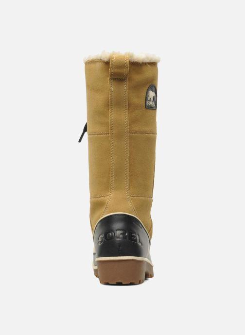 Chaussures de sport Sorel Tivoli High II Beige vue droite