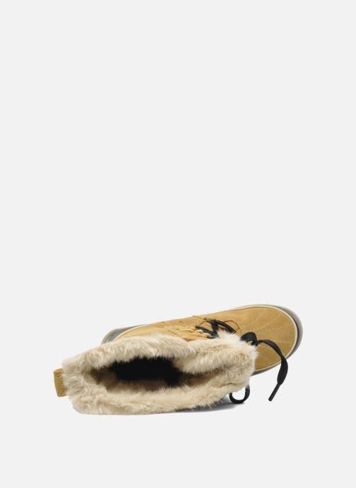 Chaussures de sport Sorel Tivoli High II Beige vue gauche