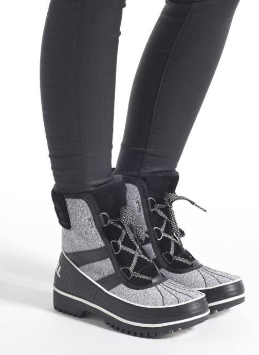 Sport shoes Sorel Tivoli II Beige view from underneath / model view