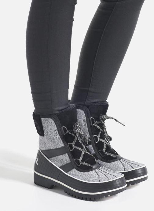 Sport shoes Sorel Tivoli II Grey view from underneath / model view