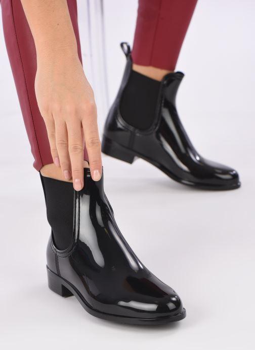 Noir et chez Bottines Comfy boots Sarenza Jelly Lemon 190493 qwx6Rzngw