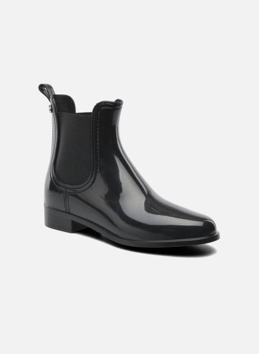 Ankelstøvler Lemon Jelly Comfy Sort detaljeret billede af skoene