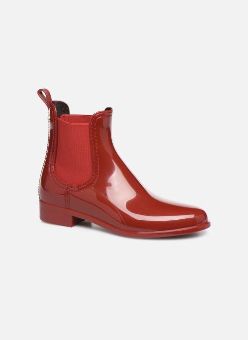 Bottines et boots Lemon Jelly Comfy Rouge vue détail/paire
