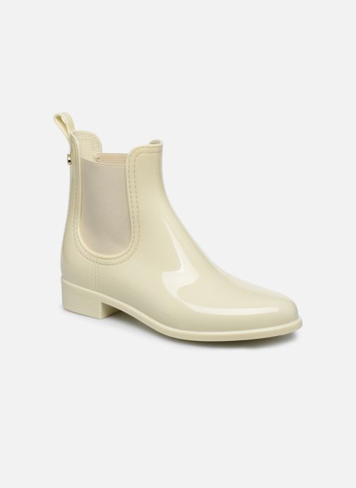 Ankle boots Lemon Jelly Comfy White detailed view/ Pair view
