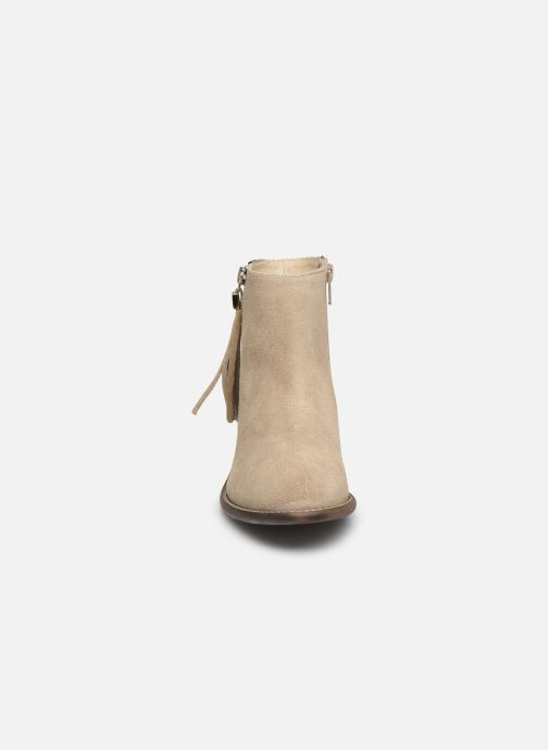 Boots en enkellaarsjes Yep Amelle Beige model