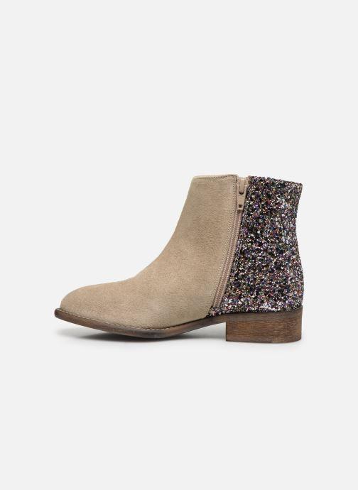 Boots en enkellaarsjes Yep Amelle Beige voorkant