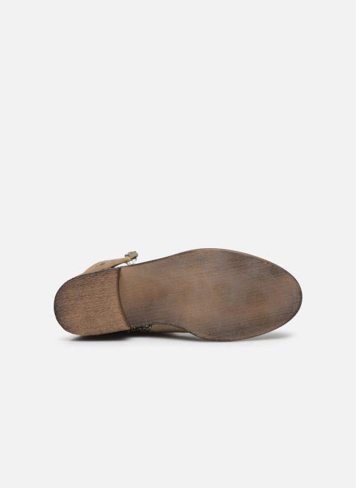 Boots en enkellaarsjes Yep Amelle Beige boven